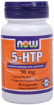 NOW Foods 5-HTP 50 mg 30 Capsules