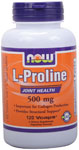 NOW Foods L-Proline 500 mg 120 Vcaps