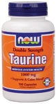 NOW Foods Taurine 1,000 mg 100 Capsules