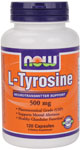 NOW Foods L-Tyrosine 500 mg 120 Capsules