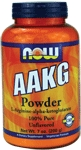 NOW Foods AAKG Powder 7 oz. (200 g)