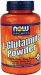NOW Foods L-Glutamine Powder 6 Ounce