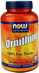 NOW Foods L-Ornithine Powder 8 Ounce
