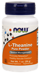 NOW Foods L-Theanine Pure Powder 1 Ounce