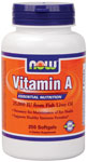 NOW Foods Vitamin A  25,000 IU 250 Softgels