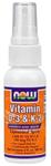 NOW Foods Vitamin D-& K-2 Liposomal Spray 2 fl oz (60 ml)