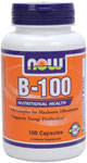 NOW Foods B-100 100 Capsules