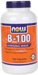 NOW Foods B-100 250 Capsules