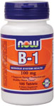 NOW Foods B-1 100 mg 100 Tablets