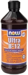 NOW Foods Ultra B-12 Liquid 16 fl oz (473 ml)