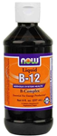 NOW Foods B-12 Complex Liquid 8 Ounce (237 ml)