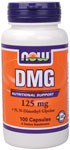 NOW Foods DMG 125 mg 100 Capsules