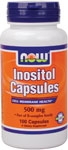 NOW Foods Inositol Capsules 500 mg 100 Capsules