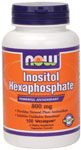 NOW Foods Inositol Hexaphosphate 800 mg 100 Capsules