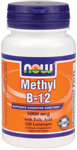 NOW Foods Methyl B-12 5,000 mcg 120 Lozenges