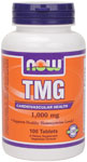NOW Foods TMG (Trimethylglycine) 1,000 mg 100 Tablets