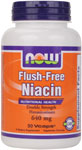 NOW Foods Flush Free Niacin 500 mg 90 Vcaps