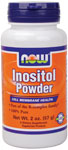 NOW Foods Inositol Powder 2 Ounce (57 g)
