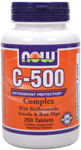 NOW Foods Vitamin C-500 Complex  250 Tablets