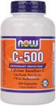 NOW Foods C-500 250 Capsules