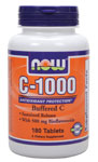 NOW Foods C-1000 Complex 180 Tablets