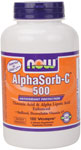 NOW Foods AlphaSorb-C 500 180 Vcaps
