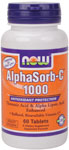 NOW Foods AlphaSorb-C 1000 60 Tablets