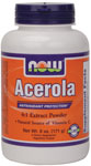 NOW Foods Acerola Powder  6 Ounces