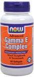 NOW Foods Gamma E Complex 60 Softgels