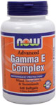 NOW Foods Gamma E Complex 120 Softgels