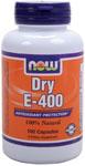 NOW Foods Dry E-400 100 Capsules