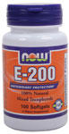 NOW Foods E-200 Mixed Tocopherols 100 Softgels