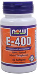 NOW Foods E-400 Mixed Tocopherols 50 Softgels