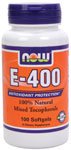 NOW Foods E-400 Mixed Tocopherols 100 Softgels