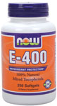 NOW Foods E-400 Mixed Tocopherols 250 Softgels