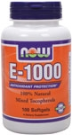 NOW Foods E-1000 IU 100 Softgels
