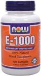 NOW Foods E-1000 IU 100 Softgels