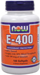 NOW Foods E-400 IU 100 Softgels