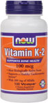 NOW Foods Vitamin K-2 100 mcg 100 Vcaps