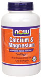 NOW Foods Calcium & Magnesium 120 Softgels