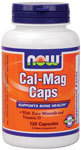 NOW Foods Cal-Mag Caps 120 Capsules