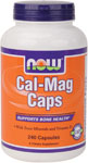 NOW Foods Cal-Mag Caps 240 Capsules