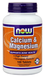 NOW Foods Calcium & Magnesium Tablets