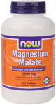 NOW Foods Magnesium Malate 1,000 mg 180 Tablets