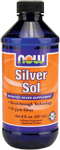 NOW Foods Silver Sol 8 Ounces (237 ml)