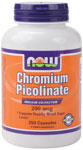 NOW Foods Chromium Picolinate 200 mcg 250 Capsules
