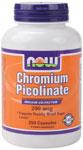 NOW Foods Chromium Picolinate 200 mcg 250 Capsules
