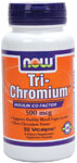 NOW Foods Tri-Chromium™ 500 mcg with Cinnamon  90 Vcaps®