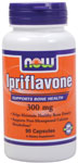 NOW Foods Ipriflavone 300 mg  90 Capsules