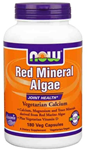 NOW Foods Red Mineral Algae 180 Vegetable Caps
